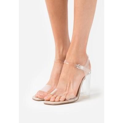 マッデンガール レディース サンダル シューズ ADENA - High heeled sandals - clear clear
