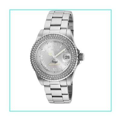 【新品】Invicta Cruiseline Women's Angel Limited Edition 40mm Stainless Steel Silver Tone Crystal Accented Swiss Quartz Watch(並行輸入品)