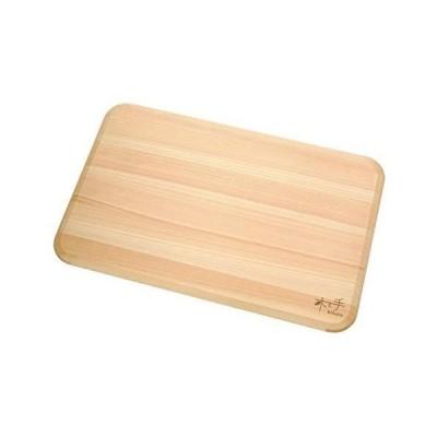 ダイワ産業 木と手 食洗機対応 ひのき薄型まな板 39cm