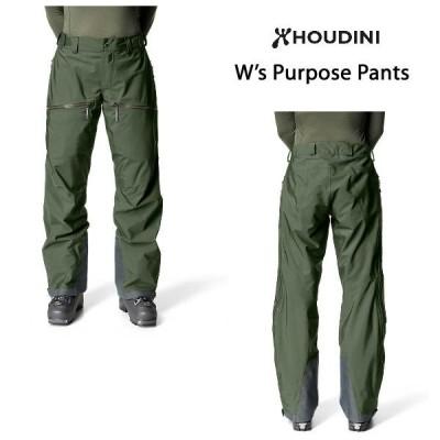 HOUDINI フーディニ W's Purpose Pants ウィメンズ パーパス パンツ レディース スノーボード スキー ウインタースポーツ アウトドア 正規品