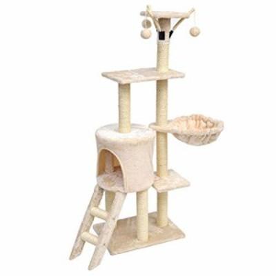 キャットタワー ハンギングボール子猫家具猫の巣Scratchers猫クライミング (新古未使用品)
