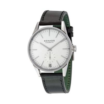 腕時計 ノモス Nomos Zurich Datum オートマチック ホワイト ダイヤル ステンレス スチール メンズ 腕時計 802