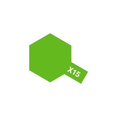 タミヤ タミヤカラー アクリルミニ X−15 ライトグリーン