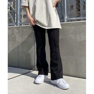 PAGEBOY / 【PAGEBOYLIM】ポンチフレアパンツ WOMEN パンツ > スラックス