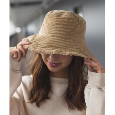 SpRay / フリンジコ-デュロイバケットHAT WOMEN 帽子 > ハット