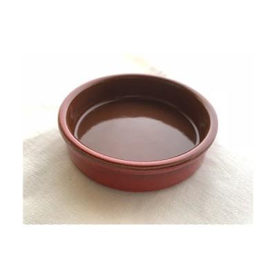 スペイン製耐熱陶器 CAZUELA カスエラ 13cm カラー:赤