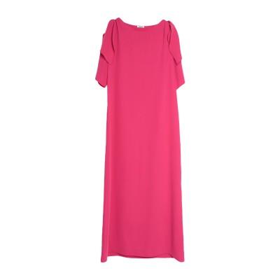パロッシュ P.A.R.O.S.H. ロングワンピース&ドレス フューシャ S ポリエステル 100% ロングワンピース&ドレス