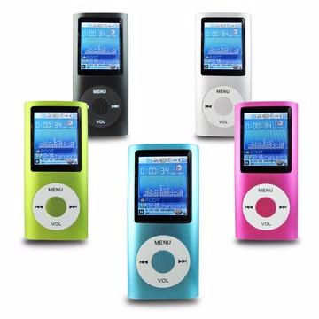 B1823蘋果四代 1.8吋彩色螢幕 MP4隨身聽(內建8GB記憶體)加送3大好禮