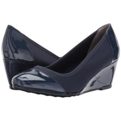 ライフストライド LifeStride レディース ヒール シューズ・靴 Juliana Stretch Lux Navy