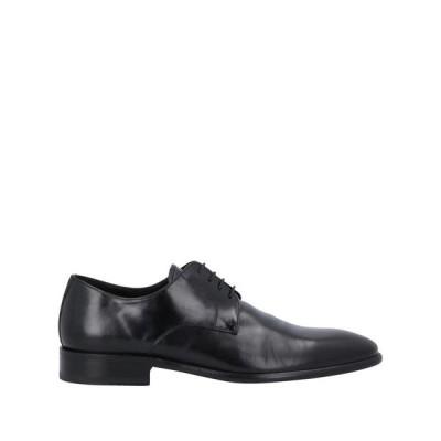 F.LLI FERRARI レースアップシューズ  メンズファッション  メンズシューズ、紳士靴  その他メンズシューズ、紳士靴 ブラック
