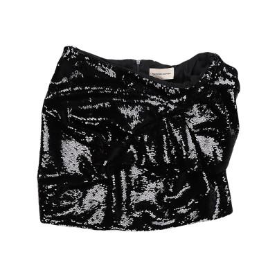 アレクサンドル・ボーティエ ALEXANDRE VAUTHIER ミニスカート ブラック 38 ポリエステル 100% ミニスカート