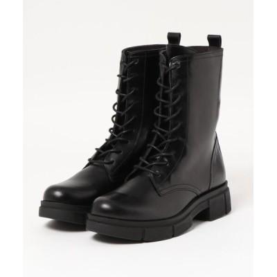 ground green store / Lince / 05153 / 厚底レースアップブーツ WOMEN シューズ > ブーツ