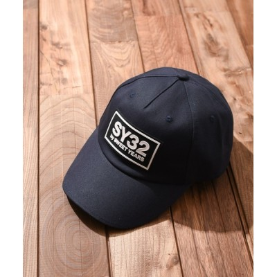INNOCENT / 『SY32 by SWEET YEARS』TWILL CAP(SY WAPPEN) MEN 帽子 > キャップ