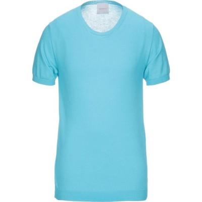 ベルウッド BELLWOOD メンズ ニット・セーター トップス Sweater Turquoise