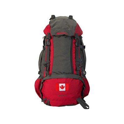 Mountain Warehouse Ventura 40L Rucksack - Adult Travel Backpack Grey 並行輸入品