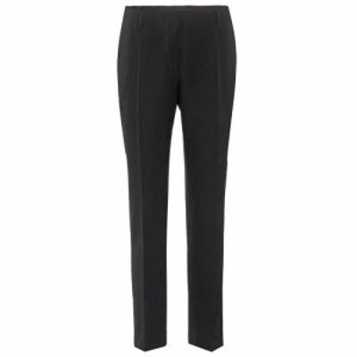 ドリス ヴァン ノッテン Dries Van Noten レディース クロップド ボトムス・パンツ Wool cropped trousers Black