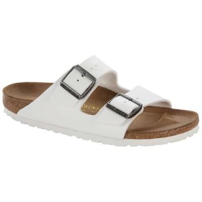 ビルケンシュトック Birkenstock USA レディース サンダル・ミュール シューズ・靴 birkenstock arizona sandal White Birko-Flor