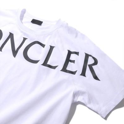 NEWモンクレール Tシャツ 8C7C510 001ホワイト MONCLER メンズ ブランド ギフト