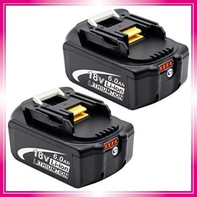 Sakule マキタ 18v バッテリー BL1860b 残量指示付き 全新高品質セル採用マキタ18v互換バッテリー マキタバッテリー