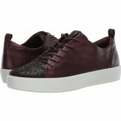 エコー ECCO レディース スニーカー シューズ・靴 Soft 8 Sneaker Fig/Fig Cow Leather