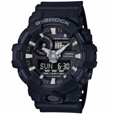 カシオ 【国内正規品】G-SHOCK(ジーショック)Gショック デジアナ時計 メンズタイプ GA-700-1BJF[GA7001BJF] 返品種別A