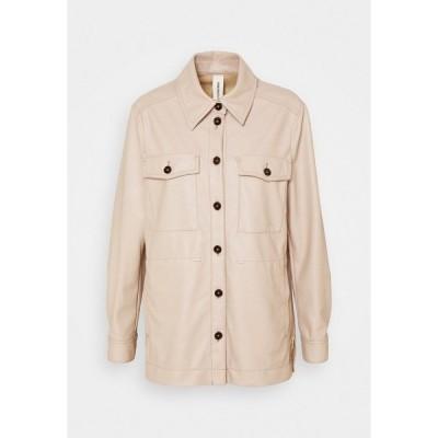 ドライコーン シャツ レディース トップス SPRECIAL NATHEN - Button-down blouse - light brown