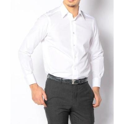 シャツ ブラウス 140/2コットンブロード レギュラーカラー ドレスシャツ