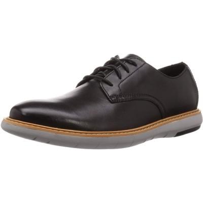 [クラークス] レースアップシューズ 革靴 ドレイパーレース 本革 メンズ ブラックレザー 24 cm