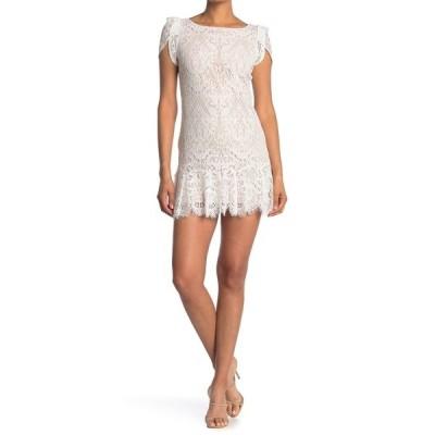 ビービーダコタ レディース ワンピース トップス Fast Lace Environment Dress IVORY