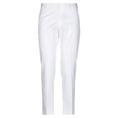 ドルチェ & ガッバーナ DOLCE & GABBANA パンツ ホワイト 52 コットン 97% / ポリウレタン 3% パンツ