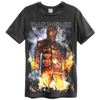 IRON MAIDEN アイアンメイデン - THE WICKER MAN / Amplified( ブランド ) / Tシャツ / メンズ 【公式 / オフィシャル】(S)