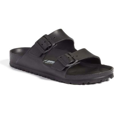 ビルケンシュトック BIRKENSTOCK レディース サンダル・ミュール スライドサンダル シューズ・靴 Essentials Arizona Waterproof Slide Sandal Black Eva