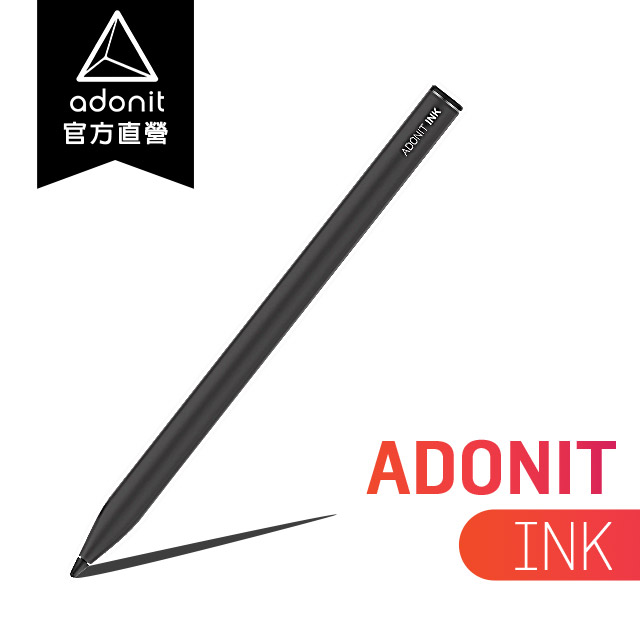 【Adonit 煥德】INK 微軟 Surface PRO 系列專用感壓觸控筆 (黑色)