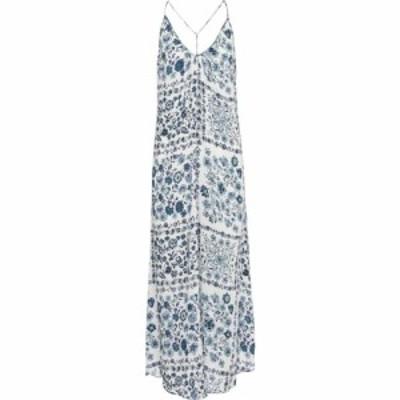 プーペット セント バース Poupette St Barth レディース ワンピース スリップドレス ワンピース・ドレス felicia floral slip dress Whi