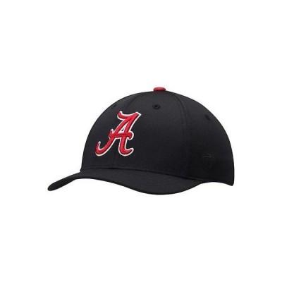 大学 NCAA トップ オブ ザ ワールド Top of the World Alabama Crimson Tide Black Impact 1Fit Flex Hat