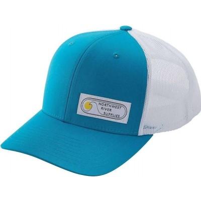 エヌアールエス NRS メンズ キャップ トラッカーハット 帽子 Retro Trucker Hat Peacock