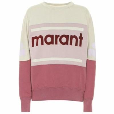 イザベル マラン Isabel Marant. Etoile レディース スウェット・トレーナー トップス Gallian logo cotton-blend sweatshirt Rosewood