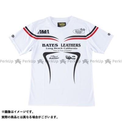 BATES カジュアルウェア BAT-S49M クールテックTシャツ カラー:ホワイト サイズ:L ベイツ