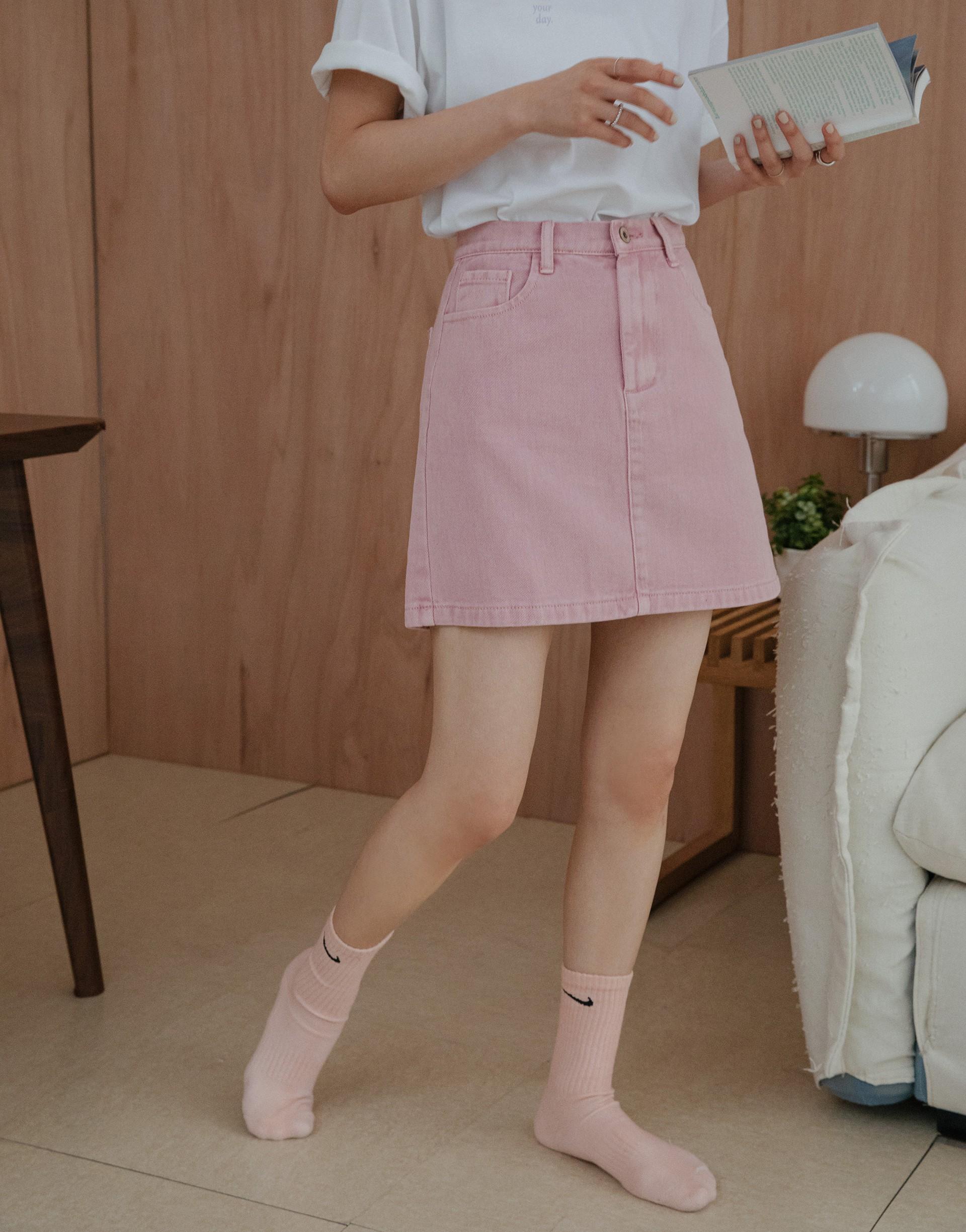 BUTTER 奶油小復古刷色顯瘦裙-PAZZO