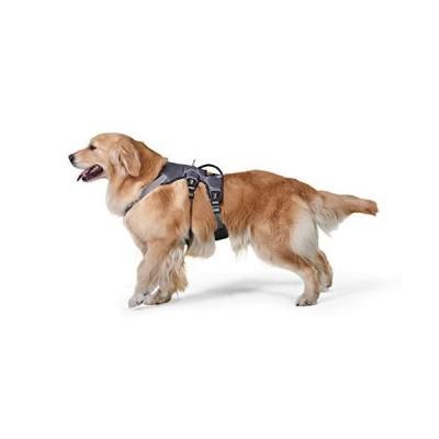 TUFF HOUNDハーネス 犬 ソフトメッシュ 軽量 小型犬 中型犬 大型犬 胴輪 反射材 調節可能 通気性 長いバージョン 胴回り50-