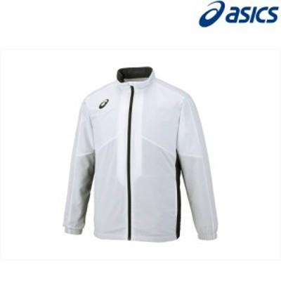 アシックス asics フィットネスウェア ユニセックス 裏トリコットブレーカージャケット(切替) 2031A235-100 2018FW