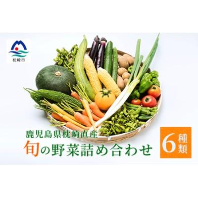 鹿児島県枕崎産旬の野菜の詰め合わせ 野菜セット 国産 九州 厳選 AA-417