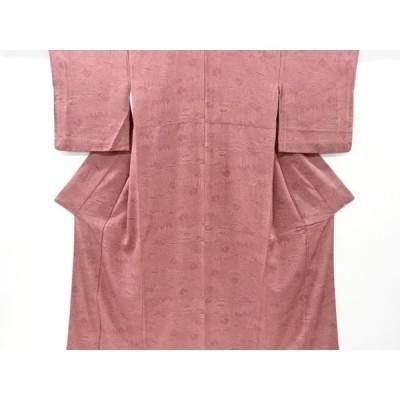 宗sou 寺院風景模様江戸小紋着物【リサイクル】【着】