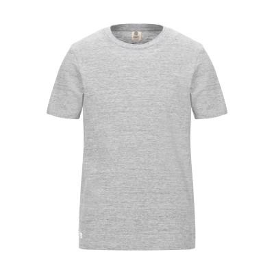 フランクリン & マーシャル FRANKLIN & MARSHALL T シャツ グレー M コットン 100% T シャツ