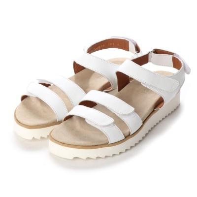 ヨーロッパコンフォートシューズ EU Comfort Shoes Benvado サンダル(36006) (ホワイト)