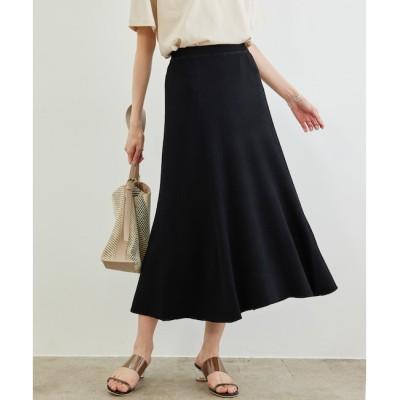 【ロペピクニック/ROPE' PICNIC】 【UVカット・洗濯機OK】リブフレアニットスカート