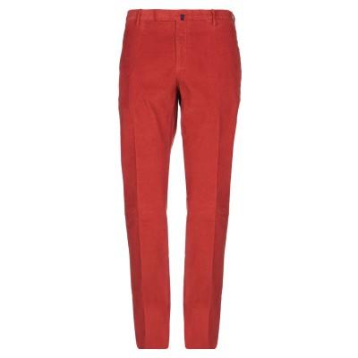インコテックス INCOTEX パンツ 赤茶色 50 コットン 98% / ポリウレタン 2% パンツ