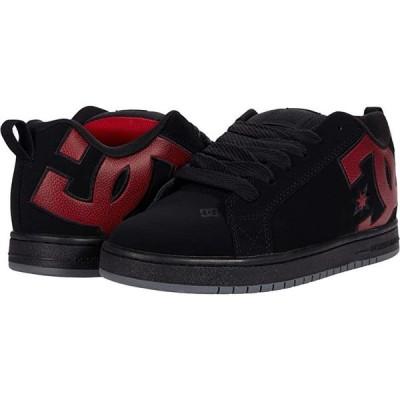 ディーシーシュー Court Graffik メンズ スニーカー 靴 シューズ Black/Red Print