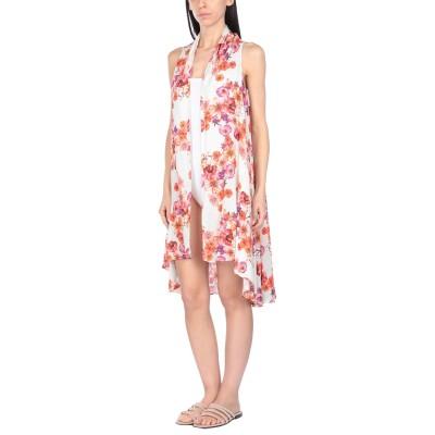 ツインセット シモーナ バルビエリ TWINSET ビーチドレス ホワイト XS レーヨン 100% ビーチドレス
