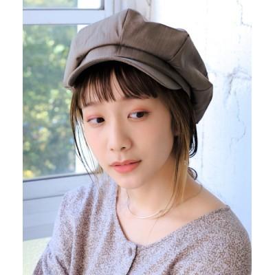 14+(ICHIYON PLUS) / 定番型コットンキャスケット WOMEN 帽子 > キャスケット